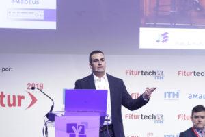 iñaki armada alonso charla blockchain turismo fitur ith